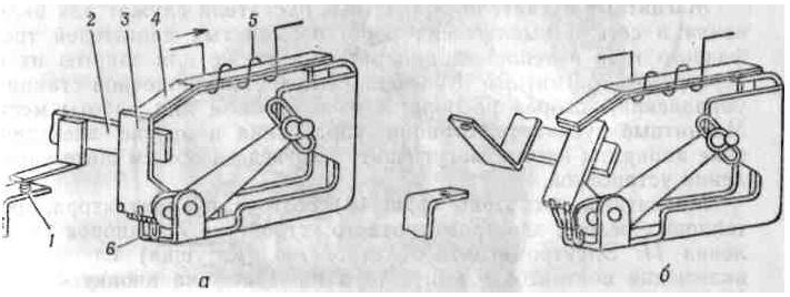 Схема будови теплового реле